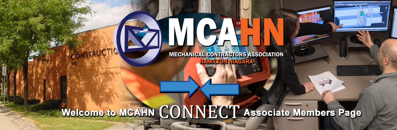 Mechanical Contractors Association Hamilton Niagara Connect